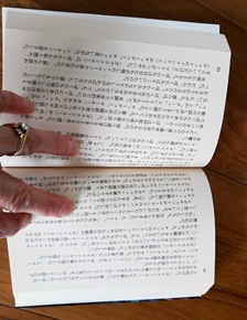Japanese text Small