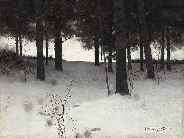 640px-Charles_Warren_Eaton,_Woods_in_Winter,_1886,_NGA_205411